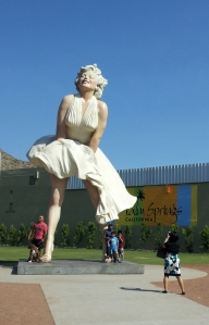 Sculptor Seward Johnsons' Marilyn Monroe
